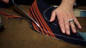*fabric cut